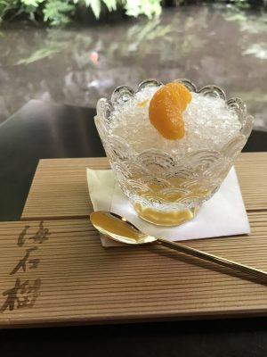 海石榴特製かき氷
