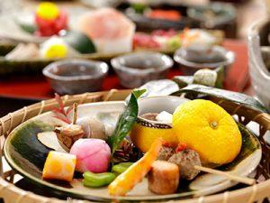 冬の懐石料理(前菜)