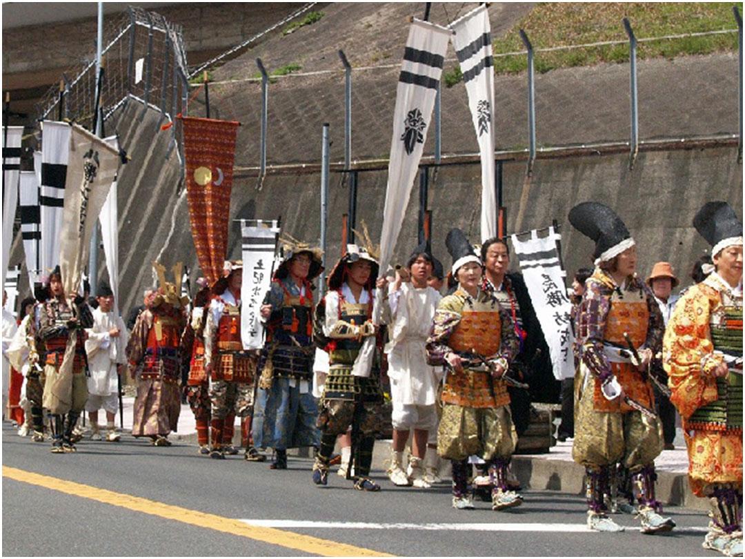 土肥祭武者パレード